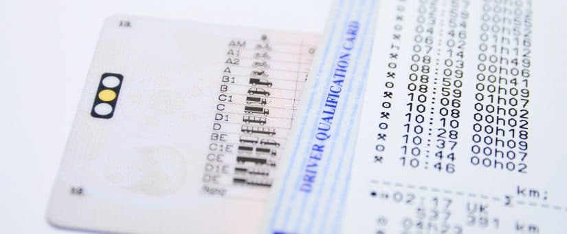 Cómo renovar la tarjeta de tacógrafo del conductor