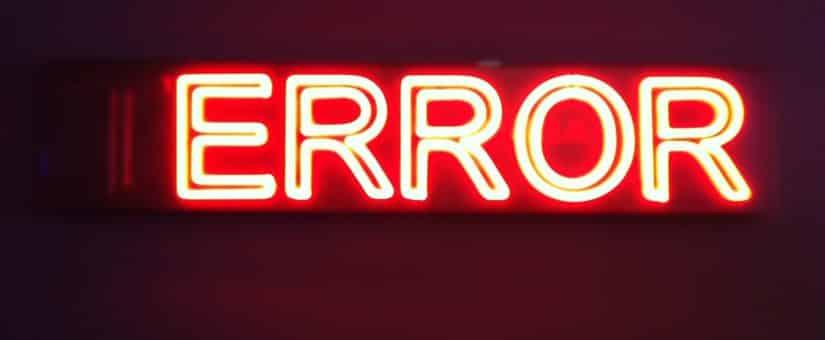 Códigos de fallos del tacógrafo digital, lista completa