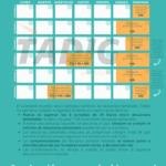 Infografía tiempos de conducción y descanso TADIG - descanso semanal, conducción semanal y bisemanal
